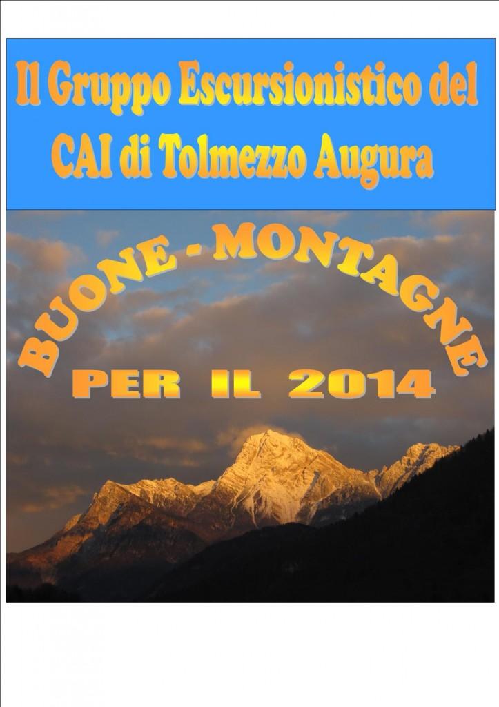 Buone montagne 2014