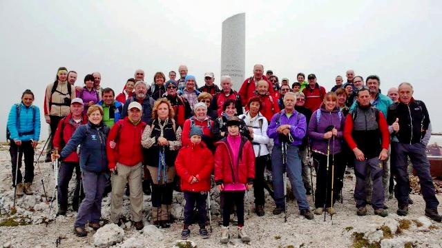 Foto di gruppo Ortigara (27-9-2015)